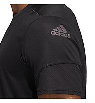 adidas 25/7 Runr Parley - T-shirt running - uomo, Black