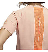 adidas 25/7 Runr Parley - Laufshirt - Damen, Rose