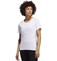 adidas 25/7 Runr Parley - Laufshirt - Damen, White