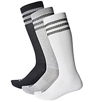 Adidas 3-Stripes Knee - 3 Paar Kniesocken, White/Black/Grey