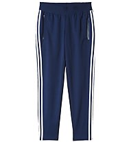 Adidas 3-Stripes Tapered Pants Pantaloni lunghi fitness donna, Blue