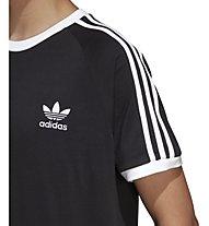 adidas Originals 3-Stripes Tee - T-Shirt - Herren, Black