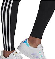 adidas Originals 3 Stripes Tight - Fitnesshose - Damen , Black