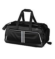 Adidas 3S Per TB borsa palestra, Black/Black/White