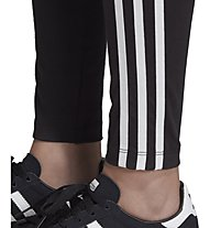 adidas Originals 3 stripes - pantaloni fitness - bambina, Black