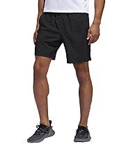 adidas Short 4KRFT Tech Woven 3-Stripes - Trainingshose kurz - Herren, Black