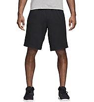 adidas 4KRFT Prime - pantaloni fitness corti - uomo, Black
