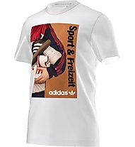 Adidas Originals 70S Catalog Tee T-Shirt fitness, White