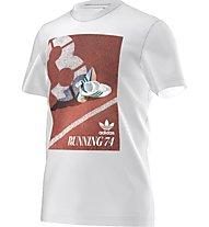 Adidas Originals 74 Catalog Tee Herren T-Shirt Fitness Kurzarm, White