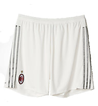 Adidas AC Milan Away Short Replica 2015/16 - Pantaloni Corti, Core White/CH Solid Grey