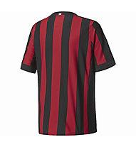 Adidas AC Milan Heimtrikot - Fußballtrikot - Kinder, Red/Black