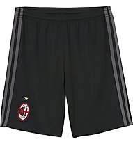 Adidas AC Milan Home Shorts, Black