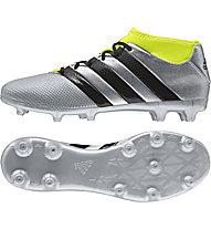 Adidas ACE 16.3 Primemesh FG/AG - scarpa da calcio, Grey/Yellow