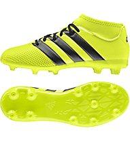 Adidas Ace 16.3 Primemesh FG/AG Junior - scarpe da calcio per terreni compatti/sintetici bambino, Yellow