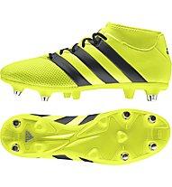 Adidas Ace 16.3 Priemesh SG - scarpe da calcio per terreni morbidi, Yellow