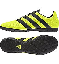 Adidas Ace 16.4 TF - scarpe da calcio per terreni duri, Yellow