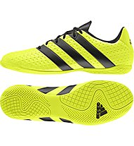 Adidas Ace 16 Indoor Scarpe da calcetto, Yellow
