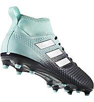 Adidas ACE 17.3 FG - Fußballschuhe fester Boden, Black/Light Blue