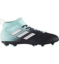 adidas ACE 17.3 FG Junior - Fußballschuh fester Boden - Kinder, Black/Light Blue