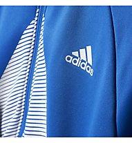 Adidas ACE Full Zip Hoodie - Kapuzenjacke - Jungen, Blue/White