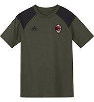 Adidas AC Milan Tee Y - maglia calcio bambino, Anthracite