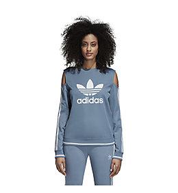 adidas Originals Trefoil Crew Sweatshirt für Damen Blau
