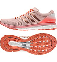 Adidas Adizero Boston 6 Laufschuh Wettkampf Damen, Salmon