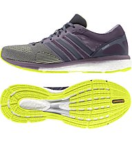 Adidas Adizero Boston Boost 5 donna, Solar Yellow/Midnight Grey/Ash Purple