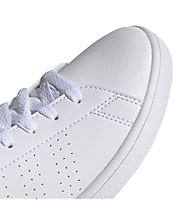 adidas Advantage K - Sneaker - Kinder, White/Green