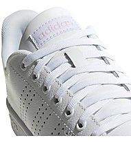 adidas Advantage - Sneaker - Damen, White