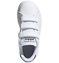 adidas Advantage - sneakers - bambino, White/Blue