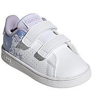 adidas Advantage I - Sneaker - Mädchen, White/Light Blue
