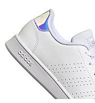 adidas Advantage - sneakers - ragazza, White