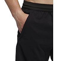 adidas Aeroready 3-Stripes 8-Inch - Kurze Fitnesshose - Herren, Black