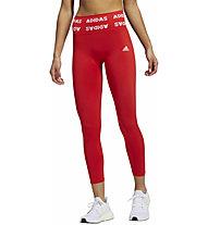 adidas Aeroknit 7/8 T - Fitnesshose - Damen , Red