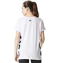 Adidas All Caps - T-Shirt - Damen, White