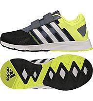 Adidas AZ Faito CF bambino, Core Black/White/Solar Yellow