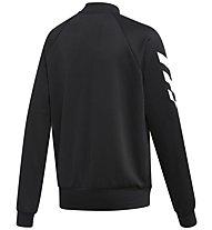 adidas Badge Of Sport Track Suit - Trainingsanzug - Kinder, Black