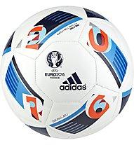 Adidas Uefa Euro 2016 France Sala 5x5 Fußball Hartplatz - Turf, White/Blue