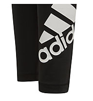 adidas Believe This - pantaloni lunghi fitness - ragazza, Black/White