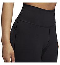 adidas Believe This 2.0 3-Stripes Mesh Long Tights - Trainingshose lang - Damen, Black
