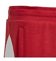 adidas Originals BG Trefoil - pantaloni corti fitness - bambino, Red