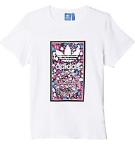 Adidas Originals Bird Tongue Label T-Shirt Damen, White