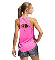 adidas BOS Logo Tank - Top - Damen, Pink
