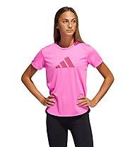 adidas Bos Logo Tee - T-shirt fitness - donna, Pink