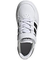 adidas Breaknet - Sneaker - Kinder, White/Black