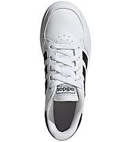 adidas Breaknet K - Sneaker - Kinder, White/Black