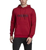 adidas Brilliant Basic Hoodie - felpa con cappuccio - uomo, Red