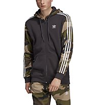 adidas Originals Camo FZ Hoodie - Kapuzenjacke - Herren, Brown