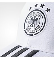 Adidas Germany 3-Stripes Cap - Schildkappe, White/Black